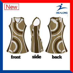 Hot Sale Sublimation Netball Dress New Design for Girls pictures & photos