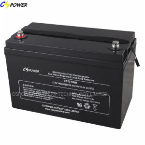 Deep Cycle AGM Battery 12V100ah for Government Projects Use (CS12-100D) pictures & photos