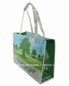 Excellent PP Woven Recycle Shopping Bag with Lamination
