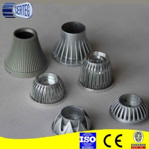 6063 Aluminum Extrusion Profiles LED light housing pictures & photos