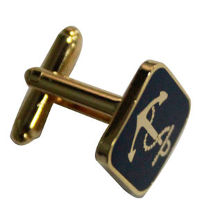 Free Mold Zinc Alloy Sqaure Gold Plating Cufflink pictures & photos