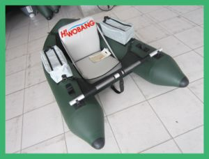 Inflatable Fishing Boat for One Person with Paddle pictures & photos