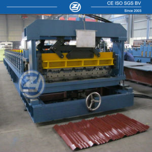 Nigeria Aluminium Roof Tile Roll Forming Machine pictures & photos