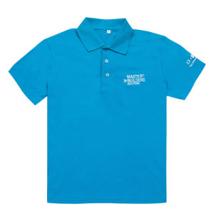 Full Blue Men′s Short Sleeve Polo Shirts Uniform Clothes (PS051W) pictures & photos