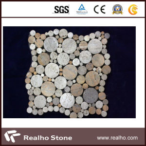 Natural Marble Stone Mosaic Tiles for Bathroom Flooring and Wall pictures & photos
