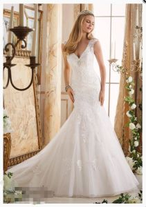 2016 off-Shoulder Mermaid Bridal Wedding Dresses 2872 pictures & photos