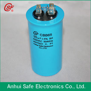 AC Motor Start Capacitor 160UF Air Conditioner Run Capacitor Dual Va Cbb65 25UF 550V AC Dual Capacitor pictures & photos