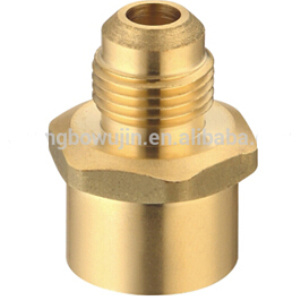Machined Fitting Female & Male Brass Nipple pictures & photos