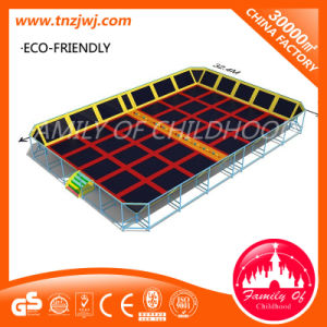 Large Trampoline to Play Indoor Trampoline Park in Guangzhou pictures & photos