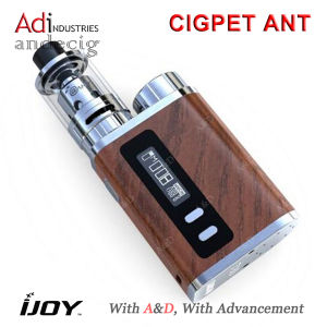Authentic 3ml Ijoy Cigpet Ant 80W Electronic Cigarettes in Stock Ijoy Cigpet Ant Starter Kit pictures & photos