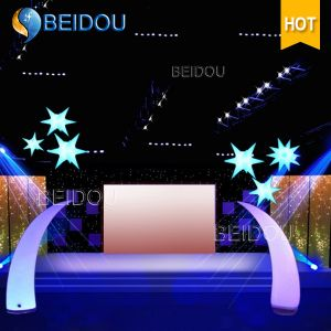 Wholesale Lighted Arch Inflatable Trees Pillars Tubes Cones Ivory Tusks pictures & photos
