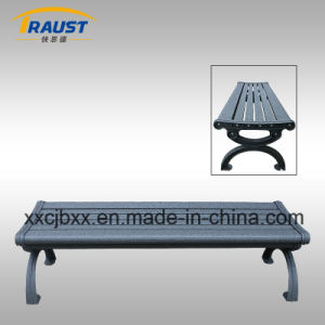 Outdoor Aluminum Bench Without Back for Garden/Metal Bench pictures & photos
