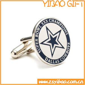 Factory Metal Cufflinks with Customize Logo (YB-r-010) pictures & photos