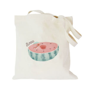 Cotton Shopping Bag with Two Long Straps