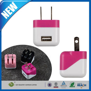 USB Rapid Power Adapter Charger with Foldable Plug pictures & photos