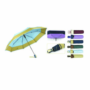 "22""X8k, 3 Fold Automatic Open & Close Edging Umbrella pictures & photos"