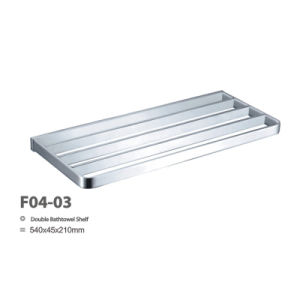 Stainless Steel Bathroom Towel Rack (F04-03) pictures & photos