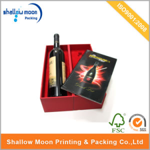 Customized Luxury Magnet Closure Wine Packaging Paper Box (QYCI15191)