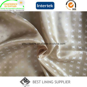 100 Polyester Men′s Suit Satin Dobby Lining Fabric China Manufacturer pictures & photos