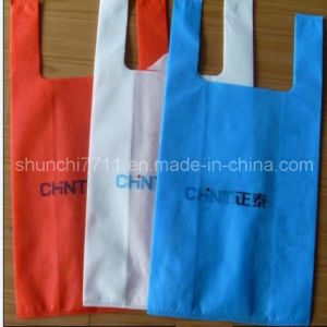 Non-Woven Shopping Packing Bag in Color pictures & photos