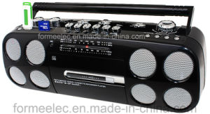 Cassette Recorder Cassette Player with USB Radio TV pictures & photos