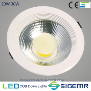 COB Recessed Ceiling Down Light 5W 7W 12W 20W 30W pictures & photos