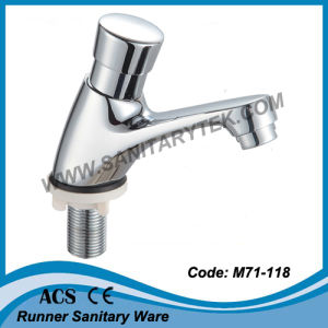 Self Closing Basin Tap (M71-118) pictures & photos