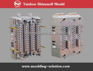 48 Cavities Shut-off Hot Runner Pet Preform Mould