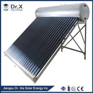 OEM ODM Custom Made Pressure Information on Solar Water Heater pictures & photos