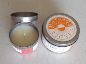 Scented Soy Wax Wedding Candle in Tin pictures & photos