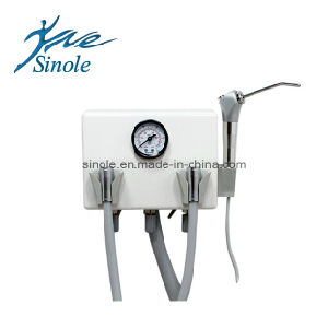 Plastic Portable Dental Unit with Syringe (8-02) pictures & photos
