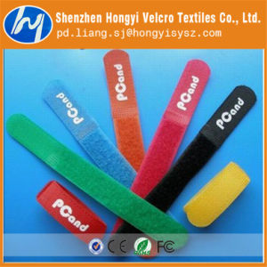 Dacron Colorful Soft-Hook & Loop Velcro Cable Tie pictures & photos
