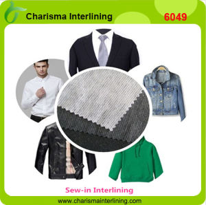 40GSM Nonwoven Fusible Sew in Interlining for Suits Garments pictures & photos