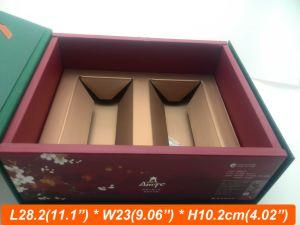 Inner E Flute Tray Box Book Style Paper Rigid Box