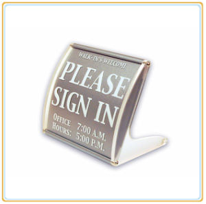 Meeting Name Sign Holder/Name Plate pictures & photos