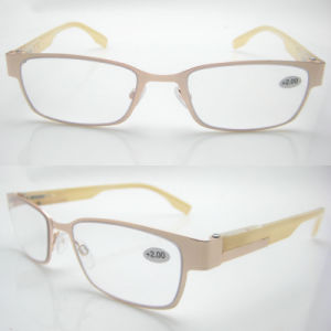 2015 Fashion Slim Designed Stainless Reading Glasses pictures & photos