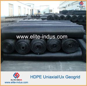 PP Uniaxial Geogrid for for Landfill Side Slops Reinforcement pictures & photos
