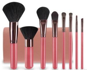 Makeup Brush Set with Pouch pictures & photos