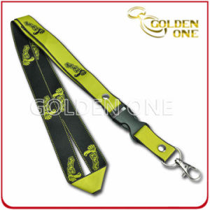 OEM Design Fine Quality Jacquard Polyester Lanyard for Gift pictures & photos