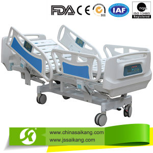 Multi-Function Electric Adjustable ICU Hospital Bed pictures & photos
