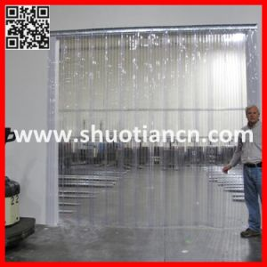 Cold Room Plastic Air Curtain Strip Door (ST-004) pictures & photos