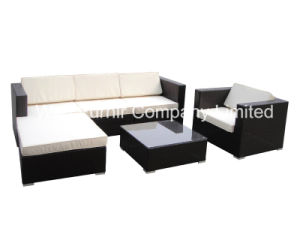 Patio Outdoor Wicker Furniture / Rattan Sectional Sofa Set pictures & photos
