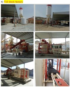 Qgm T10 Fly Ash Block Making Machine pictures & photos