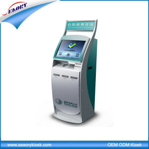 Factory Touch Screen Card Payment Kiosk with Cash Acceptor pictures & photos