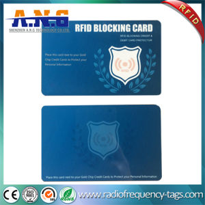 Offset Printing RFID Blocking Card Sleeve Protecting ID and Credit Card pictures & photos