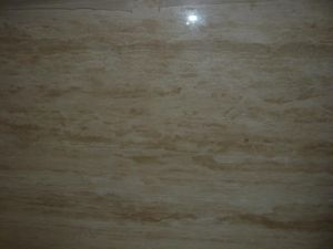 Roman Travertine Slab for Countertops and Building Materials