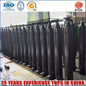 Front End 30t Lifting Hyva Type Hydraulic Cylinder for Trailer pictures & photos
