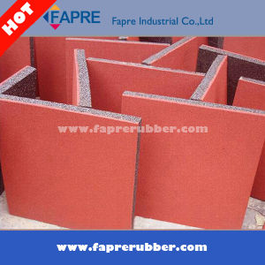 Anti Slip Durable Heavy Duty Recycled Rubber Tile pictures & photos