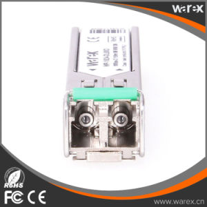 Compatible GLC-ZX-SM-C Optical Transceiver 1.25G 1550nm 80km Duplex LC Network Product pictures & photos