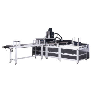 Automatic Box & Hardcover Gluing Positioning Machine (YX-1000B) pictures & photos